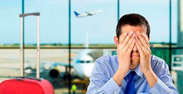 O que fazer se você perder o voo